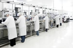 cosmetiques ligne de production